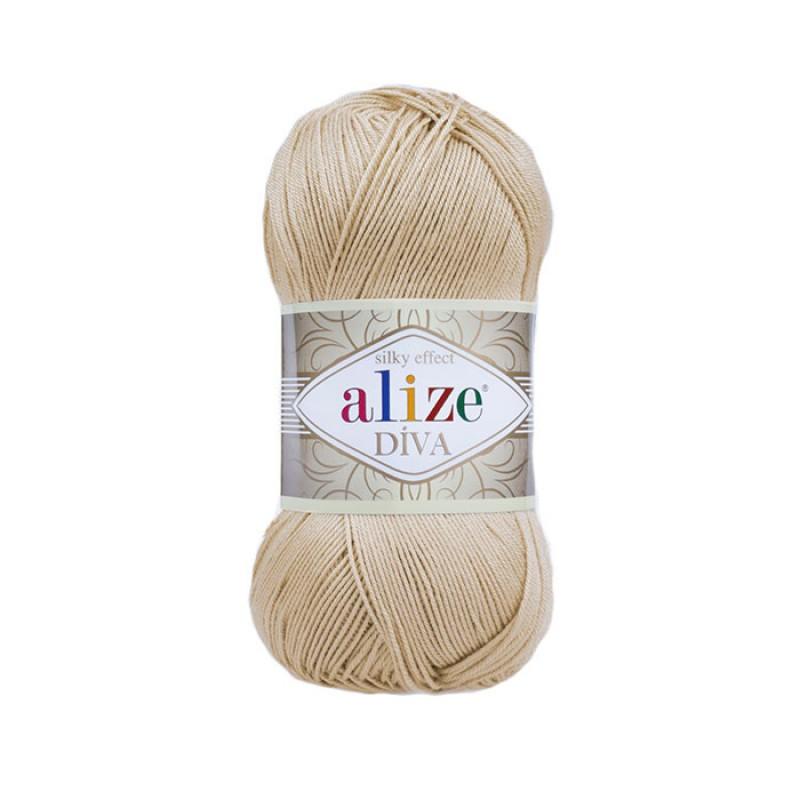 ALIZE DIVA - 368 CAMEL