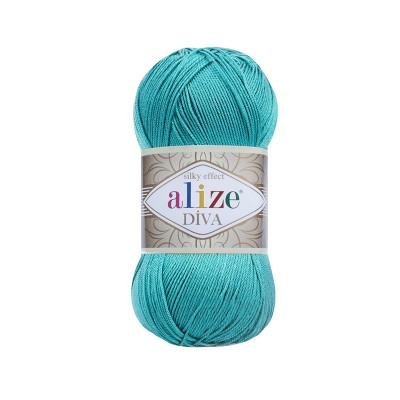 ALIZE DIVA - 376 CYAN