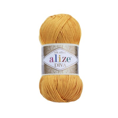 ALIZE DIVA - 488 SAFFRON