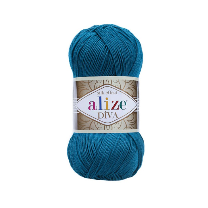ALIZE DIVA - 646 MYKONOS BLUE