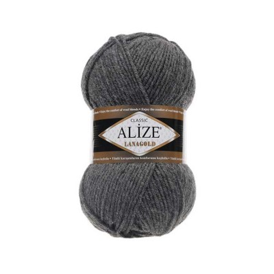ALIZE LANAGOLD - 182 MEDIUM GRAY MELANGE