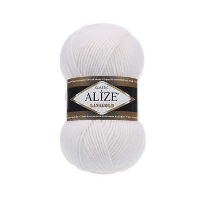 ALIZE LANAGOLD - 55 WHITE