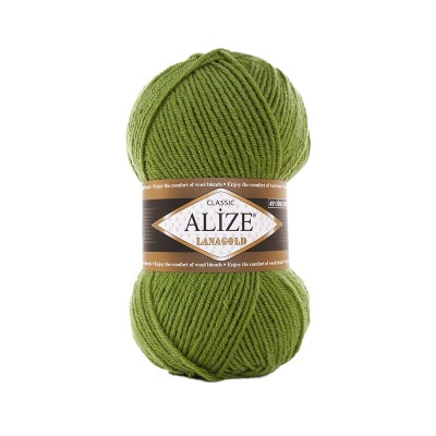 ALIZE LANAGOLD - 485 TURTLE GREEN