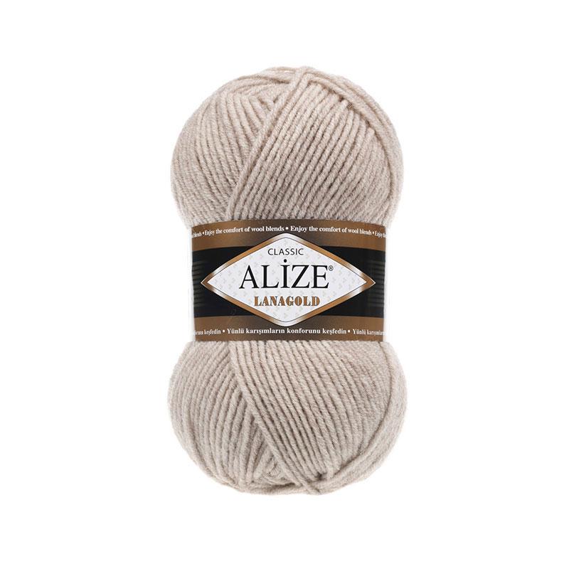 ALIZE LANAGOLD - 152 BEIGE MELANGE