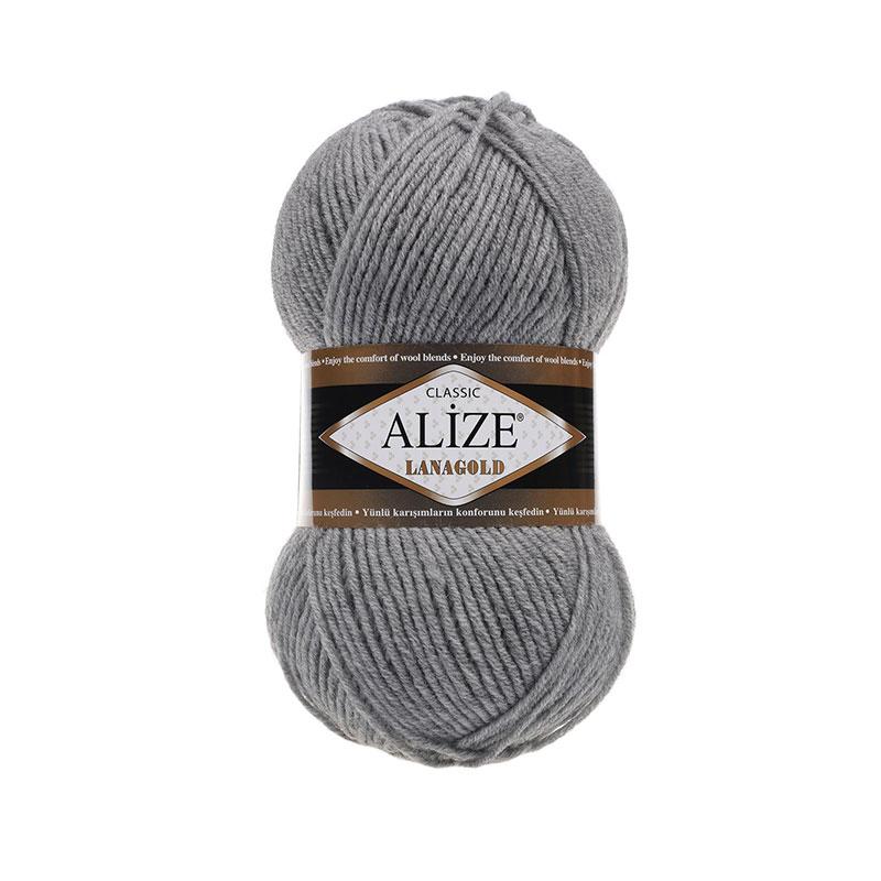 ALIZE LANAGOLD - 21 GRAY MELANGE