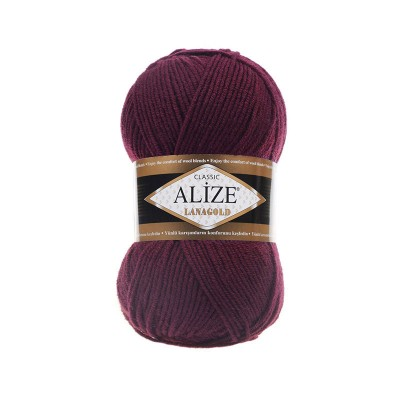 ALIZE LANAGOLD - 495 BEET RED
