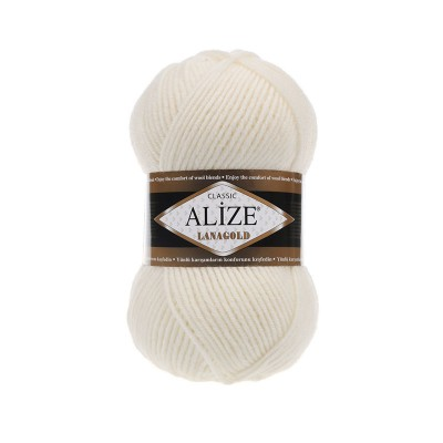 ALIZE LANAGOLD - 62 LIGHT CREAM