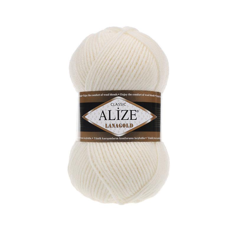 ALIZE LANAGOLD - 62 LIGHT CREAM