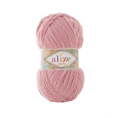 ALIZE SOFTY PLUS - 295 PINK ROSE