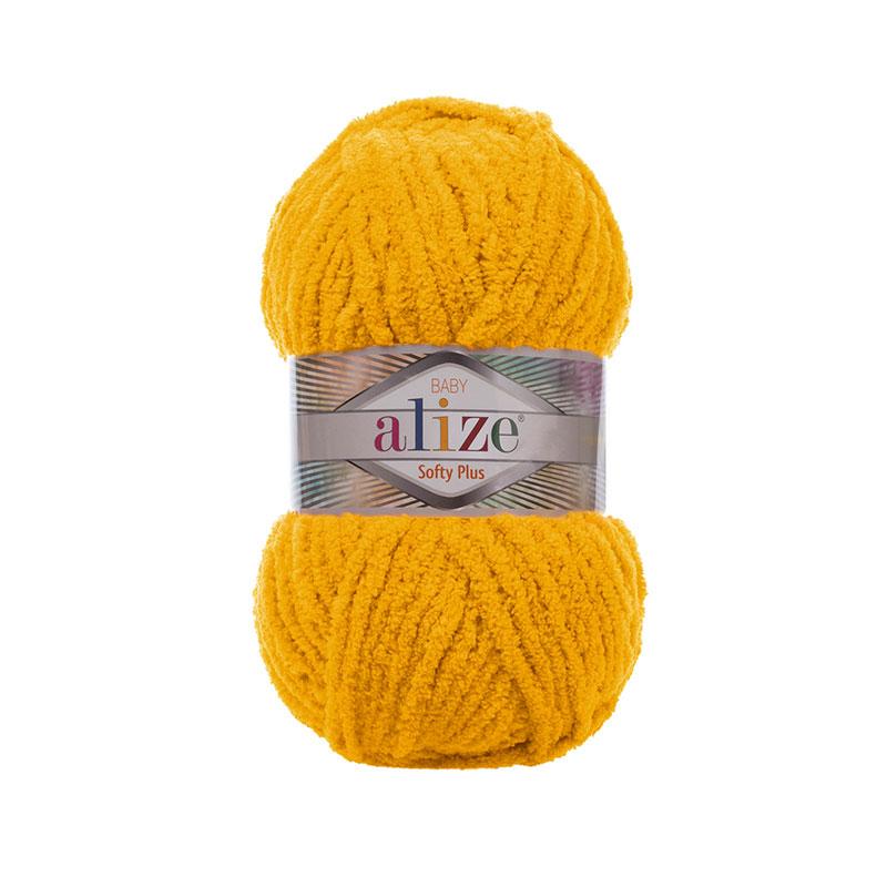 ALIZE SOFTY PLUS - 82 MUSTARD