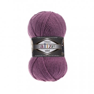 ALIZE SUPERLANA MIDI - 28 ROSE