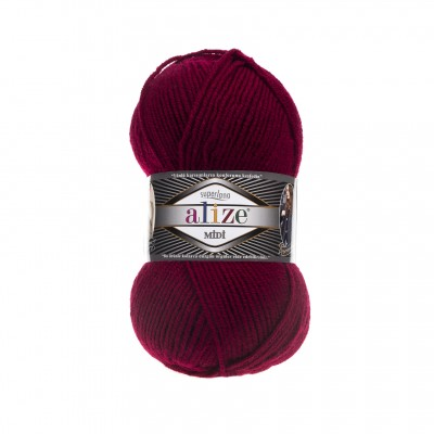 ALIZE SUPERLANA MIDI - 390 CHERRY