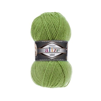 ALIZE SUPERLANA MIDI - 485 TURTLE GREEN