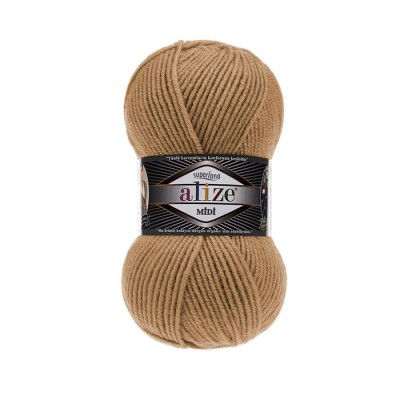 ALIZE SUPERLANA MIDI - 499 CAMEL FEATHER