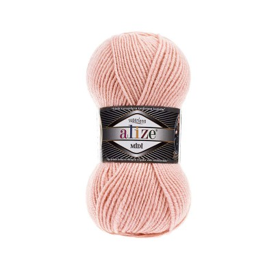 ALIZE SUPERLANA MIDI - 523 CRYSTAL PINK