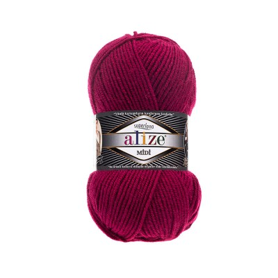 ALIZE SUPERLANA MIDI - 649 RUBY
