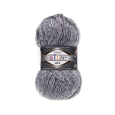 ALIZE SUPERLANA MIDI - 801 JASPE GRAY