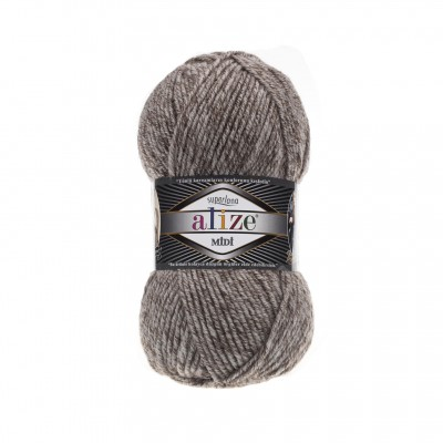 ALIZE SUPERLANA MIDI - 803 JASPE MILKY BROWN