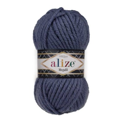 ALIZE SUPERLANA MEGAFIL - 203 DENIM MELANGE