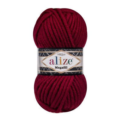 ALIZE SUPERLANA MEGAFIL - 390 CHERRY