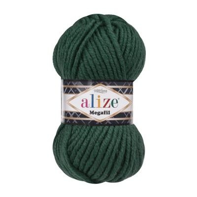 ALIZE SUPERLANA MEGAFIL - 426 DARK GREEN