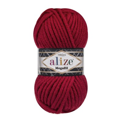 ALIZE SUPERLANA MEGAFIL - 56 RED