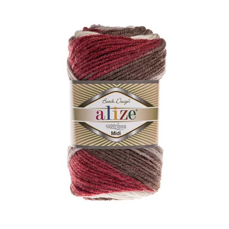 ALIZE SUPERLANA MIDI BATIK - 7049