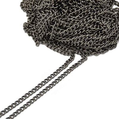 ΑΛΥΣΙΔΑ 13 - ( 5,4 mm ) - ΜΑΥΡΟ ΝΙΚΕΛ (1m)