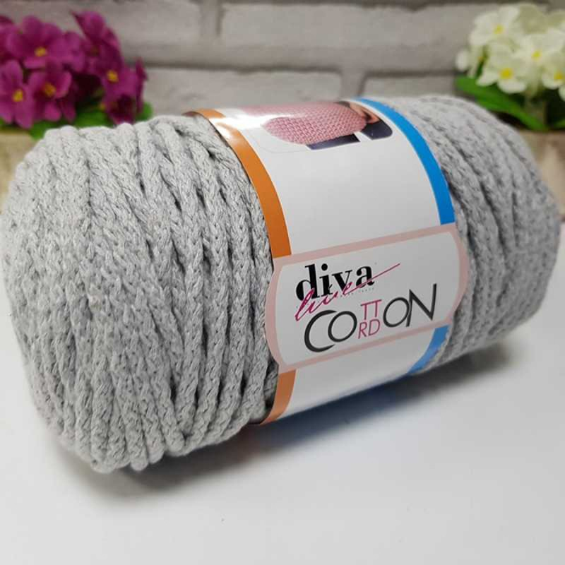 DIVA COTTON CORDON - 2107 LIGHT GRAY