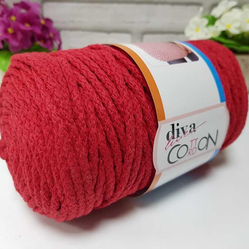 DIVA COTTON CORDON - 2126 RED