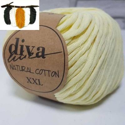 Natural Cotton - 1002 Soft Yellow