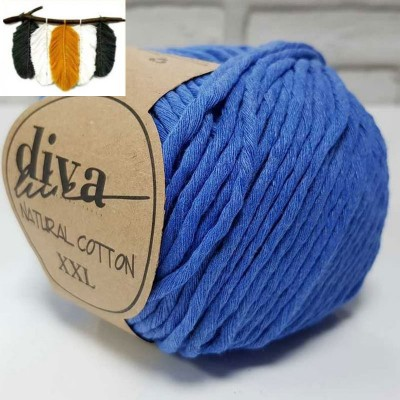Natural Cotton - 1256 Blue