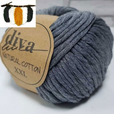 Natural Cotton - 194 Medium Gray
