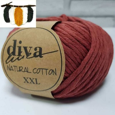 Natural Cotton - 1964 Cinnamon