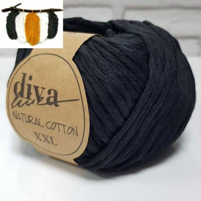 Natural Cotton - 2111 Black