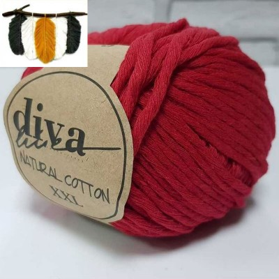 Natural Cotton - 2126 Red