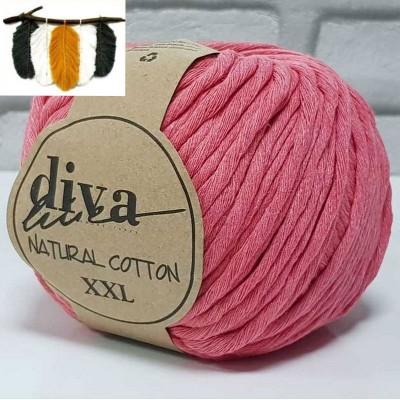 Natural Cotton - 2136 Pomegranate