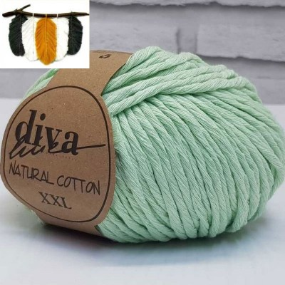 Natural Cotton - 487 Water Green