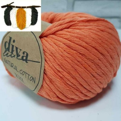 Natural Cotton - 979 Orange