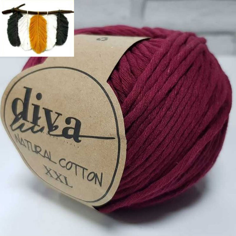 Natural Cotton - 999 Burgundy