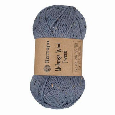 KARTOPU MELANGE WOOL TWEED - M1411